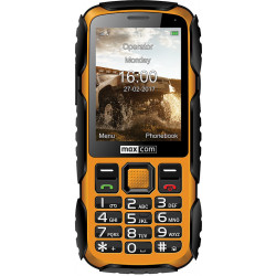Telefon MAXCOM Strong MM920 Zółty