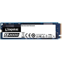 KINGSTON A2000 M.2 2280″ 500 GB PCI Express 2200MB/s 2000MS/s