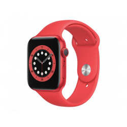 APPLE Watch Series 6 GPS 44mm PRODUCT RED Aluminium Case with PRODUCT RED Sport Band - Regular