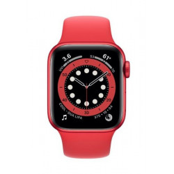 APPLE Watch Series 6 GPS + Cellular 44mm PRODUCT RED Aluminium Case with PRODUCT RED Sport Band - Regular
