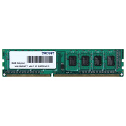 Pamięć PATRIOT DIMM DDR3 4GB 1333MHz 9CL 1.5V SINGLE