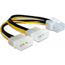 Kabel DELOCK 2xHDD/ 1xPCI Express 8Pin 82397