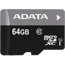Karta pamięci A-DATA microSDXC 64 GB Adapter SD