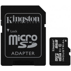Karta pamięci KINGSTON microSD 8 GB Adapter SD